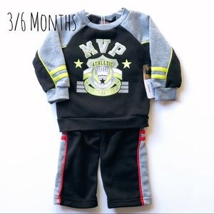 ❤️ 5 for $15! NWT Baby 3/6 Month Sweatshirt pants